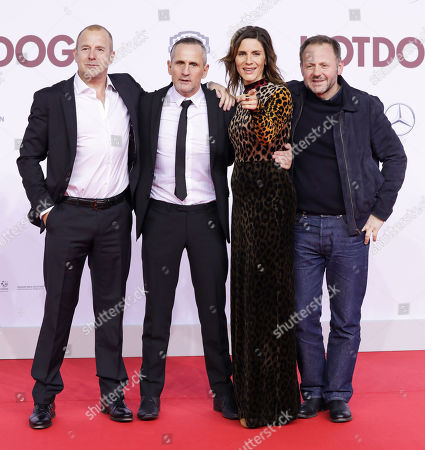 Heinz Georg Kramm Ferch, Tim Wilde, Christina Hecke and Samuel Finzi