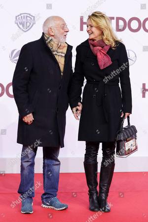 Dieter Hallervorden mit partner Christiane Zander