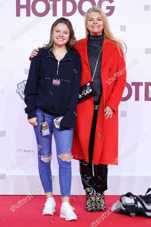 Faye Montana mit Mutter Anne-Sophie Briest