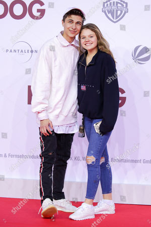 Lukas Rieger and Faye Montana Briest
