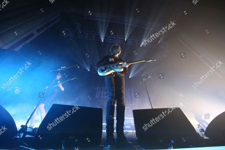 Editorial photo of The Hunna in concert at the O2 Academy, Glasgow, Scotland, UK - 9th January 2018