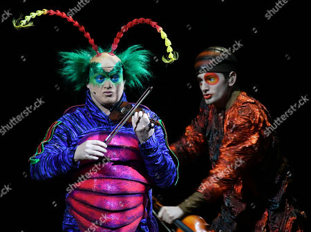 Performers during a dress rehearsal of Cirque du Soleilu0027s ...  sc 1 st  Shutterstock & Cirque du Soleil OVO dress rehearsal London Stock Photos (Exclusive ...
