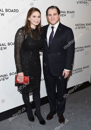 Mai-Linh Lofgren, Michael Stuhlbarg. Actor Michael Stuhlbarg and wife Mai-Linh Lofgren attend the National Board of Review Awards Gala at Cipriani 42nd Street, in New York