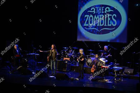 Editorial picture of The Zombies in concert at The Parker Playhouse, Fort Lauderdale, USA - 09 Jan 2018