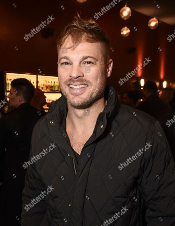 "Stock Photo of Actor George Stults at the Warner Bros. and Merging Vets and Players screening of ""12 Strong"" at the Arclight Hollywood."