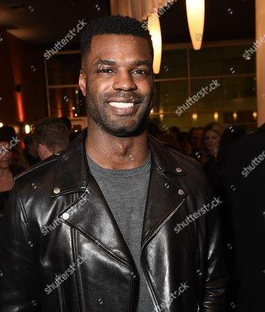 """Stock Picture of Keith Rivers at the Warner Bros. and Merging Vets and Players screening of """"12 Strong"""" at the Arclight Hollywood."""
