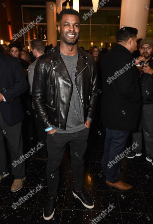 """Keith Rivers at the Warner Bros. and Merging Vets and Players screening of """"12 Strong"""" at the Arclight Hollywood."""