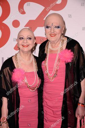 Eva and Adele (Kuenstler) .