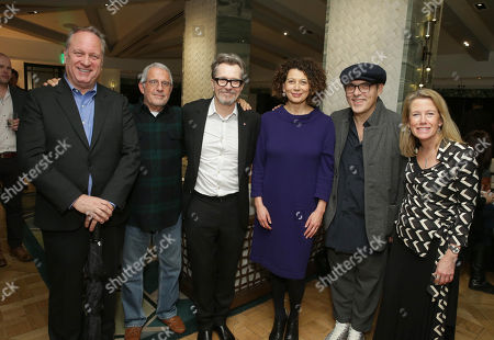 Douglas Urbanski - Producer, Ron Meyer - Vice Charman, NBC Universal, Gary Oldman, Donna Langley - Chairman, Universal Pictures, Joe Wright - Director and Lisa Bruce - Producer
