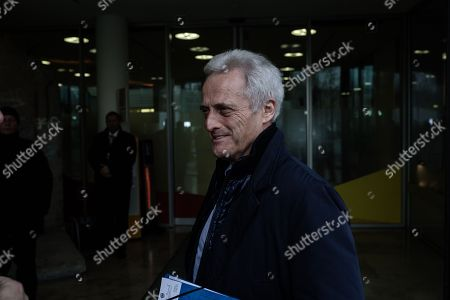German politician of the Christian Social Union in Bavaria (CSU)  Peter Ramsauer arrives at the exploratory talks at the Christian Democrats' (CDU) party headquarters, the 'Konrad-Adenauer-Haus', in Berlin, Germany, 10 January 2018. The leaders of the Christian Democratic Union (CDU), their Bavarian sister party Christian Social Union (CSU) and the Social Democratic Party (SPD) hold exploratory talks at the parties' respective headquarters through 11 January 2018.