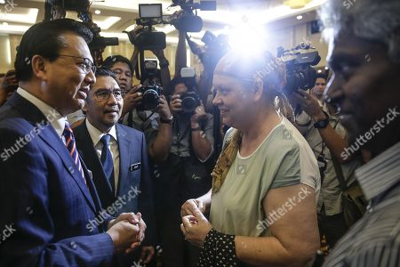 Editorial picture of Malaysia signs contract with US firm to continue MH370 search, Putrajaya - 10 Jan 2018