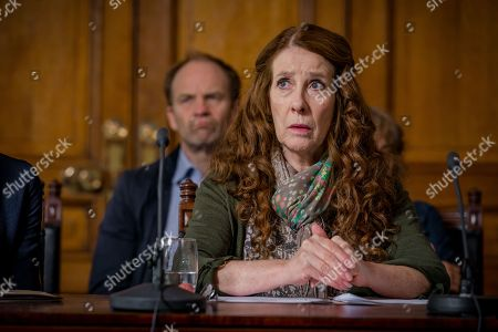 (Ep 4) - Adrian Rawlins as Dave Stanley and Phyllis Logan as Linda Hutchinson
