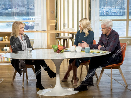 Debbie Arnold, Holly Willoughby and Phillip Schofield