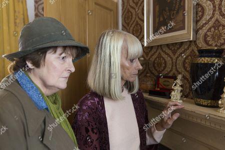Brenda Blethyn as DCI Vera Stanhope and Rita Tushingham as Audrey Latham.