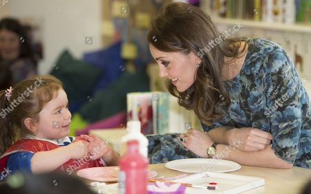 Catherine Duchess of Cambridge with Ava Leigh-Morris (3)