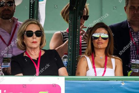 Priceline ambassadors Ita Buttrose and Ada Nicodemou