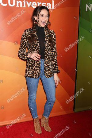 Editorial photo of NBC Universal Starwalk, TCA Winter Press Tour, Los Angeles, USA - 09 Jan 2018