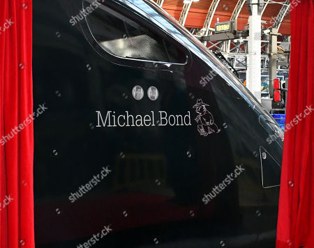Editorial picture of New Intercity Express Train named after Paddington Bear Author Michael Bond, London, UK - 10 Jan 2018