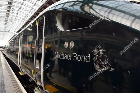 Michael Bond Intercity Express train