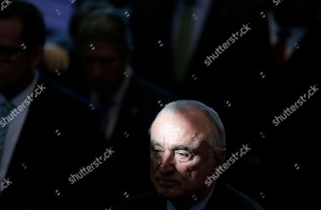 Former New York City Police Commissioner Bill Bratton attends a plaque dedication ceremony at the Central Park police precinct in New York