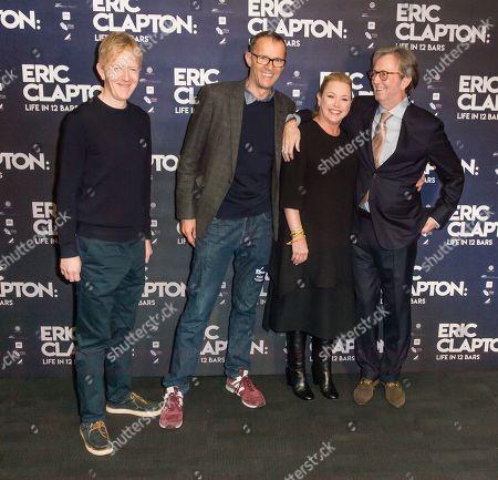 John Battsek, Lili Fini Zanuck, Eric Clapton, Chris King