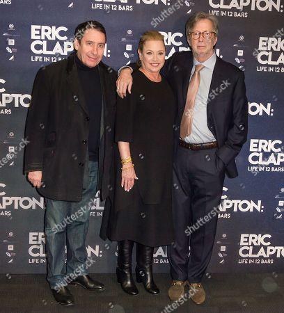 Jools Holland, Lili Fini Zanuck, Eric Clapton