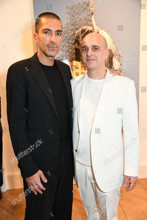 Editorial picture of 'JR: Giants - Body of Work' Private View, London, UK - 10 Jan 2018