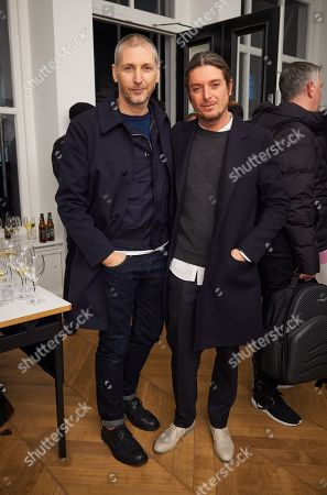 Charming Baker and Darren Strowger