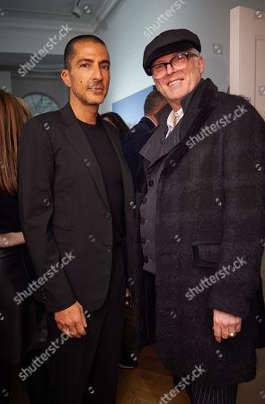 Wissam Al Mana and Joe Corre