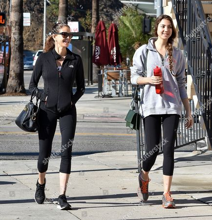 Editorial image of Teri Hatcher and Emerson Tenney out and about, Los Angeles, USA - 10 Jan 2018