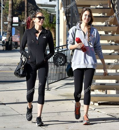 Teri Hatcher and Emerson Tenney