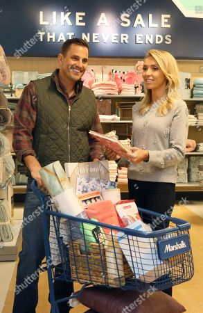 Editorial photo of Marshalls Store Surprise with Bill and Giuliana Rancic, New York, USA - 10 Jan 2018