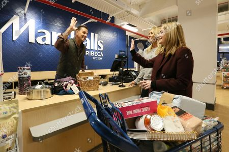 Editorial image of Marshalls Store Surprise with Bill and Giuliana Rancic, New York, USA - 10 Jan 2018
