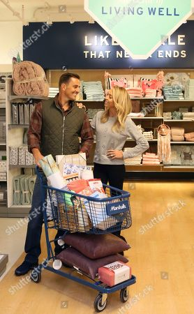 Bill Rancic, Giuliana Rancic. Bill and Giuliana Rancic find items to help them keep their New Year family resolutions at Marshalls in Tribeca, in New York