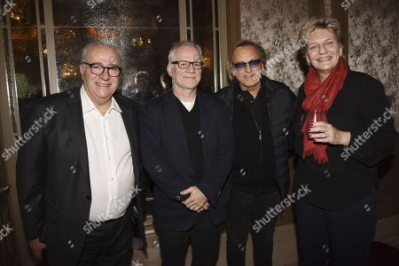 Stock Image of Alexandre Lichan, Thierry Fremaux, Alexandre Arcady, Sophie Dulac