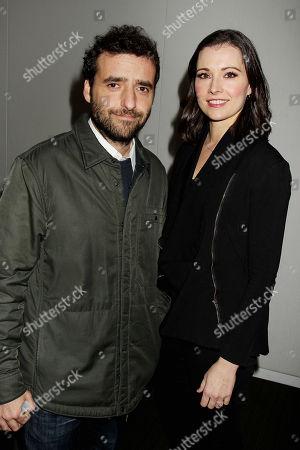 David Krumholtz with wife Vanessa Britting