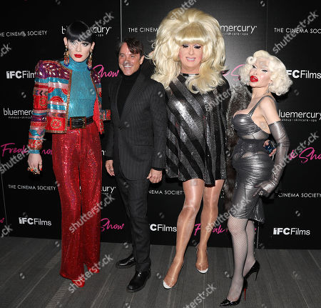 Editorial picture of 'Freak Show' Premiere, New York, USA - 10 Jan 2018