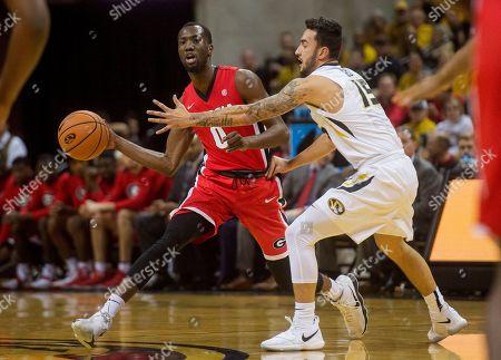 Editorial picture of Georgia Missouri Basketball, Columbia, USA - 10 Jan 2018