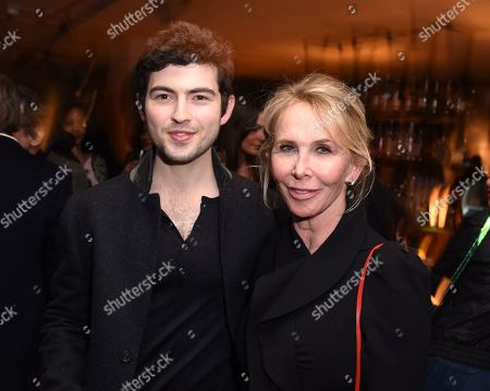 Ian Nelson and Trudie Styler