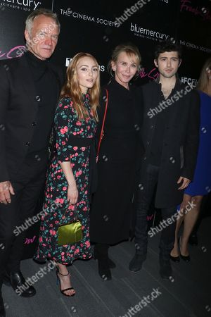 Sting, AnnaSophia Robb, Trudie Styler (Director) and Ian Nelson