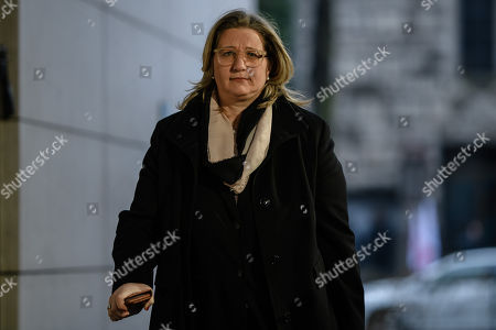 The Economy Minister of the Saarland, Anke Rehlinger (SPD) arrives for exploratory talks held at the Social Democrats party headquarters Willy-Brandt-Haus in Berlin, Germany, 11 January 2018. The leaders of CDU, CSU and SPD parties hold exploratory talks at the parties' headquarters through 11 January.