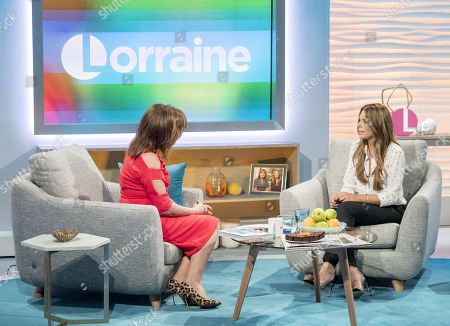 Editorial picture of 'Lorraine' TV show, London, UK - 11 Jan 2018