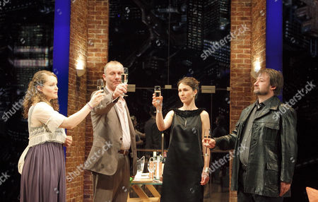 Emma Cunniffe (Caitlin), Aden Gillett (Richard), Helen Baxendale (Lara), James Dreyfus (Joe)