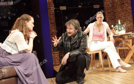 Emma Cunniffe (Caitlin), James Dreyfus (Joe), Vicki Pepperdine (Shelley)