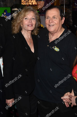 Marta Kristen and Burt Ward