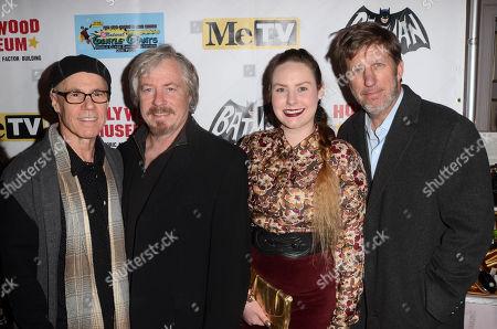 Stock Photo of Barry Livingston, Stan Livingston, Hailey Livingston and Robert Peters