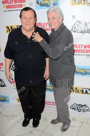 Burt Ward and Lee Meriwether