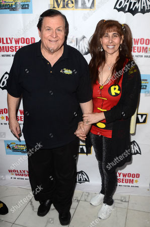 Stock Picture of Burt Ward and Tracy Posner