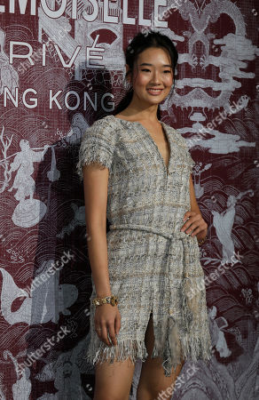Thai model and actress Chutimon Chuengcharoensukying poses during a promotional event for Chanel in Hong Kong