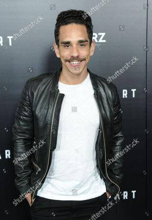 Stock Photo of Ray Santiago